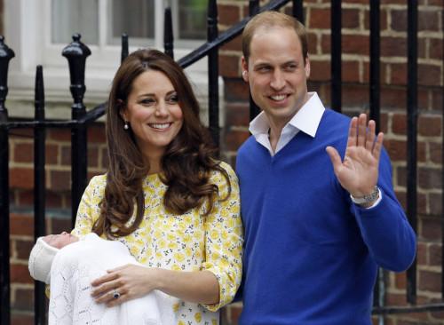 APTOPIX Britain Royal Baby