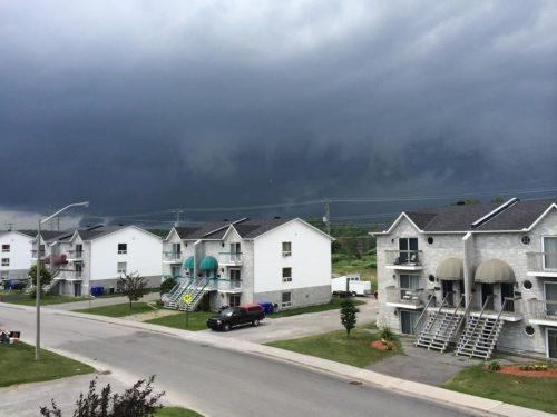 orages violents
