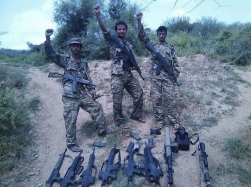 TWITTER Houthi forces in Yemen - with high-precision arms made by winnipeg-based  PGW Defence Technologies Inc